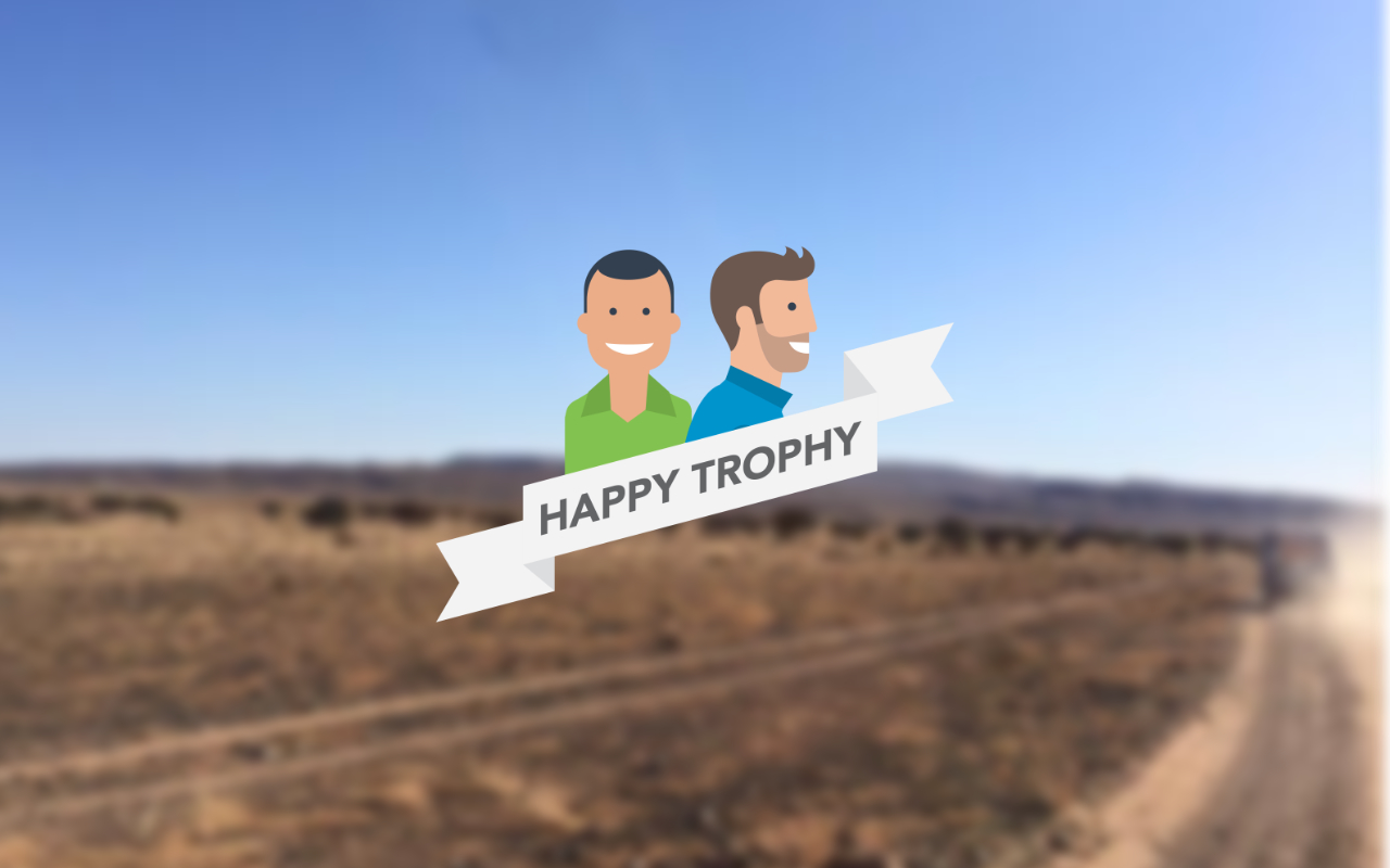 happy trophy Logo